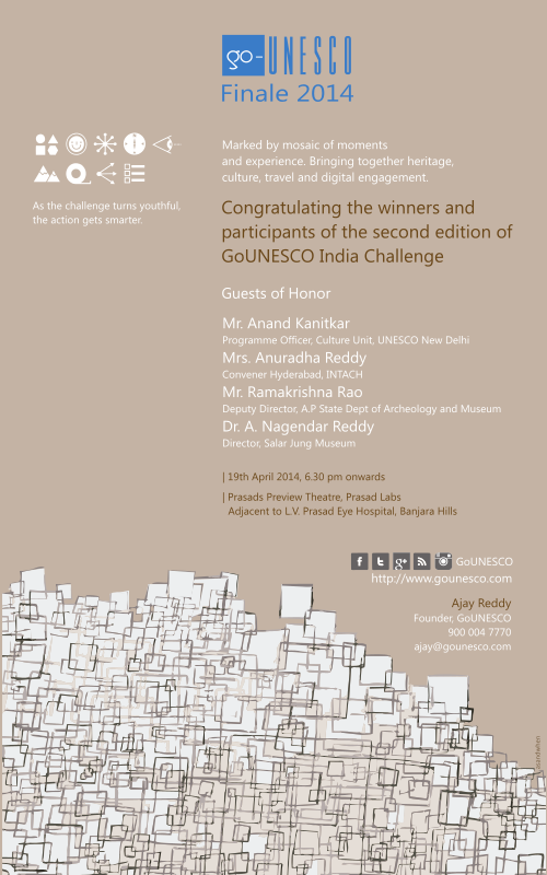 GoUNESCO Finale Invitation