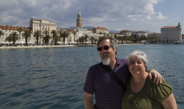 Historical Complex of Split with the Palace of Diocletian - Croatia Corinne vail