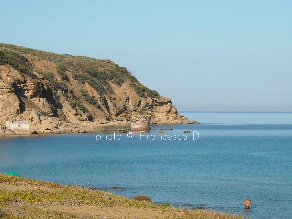 Porto Paglia, Gonnesa: the coastal Tower