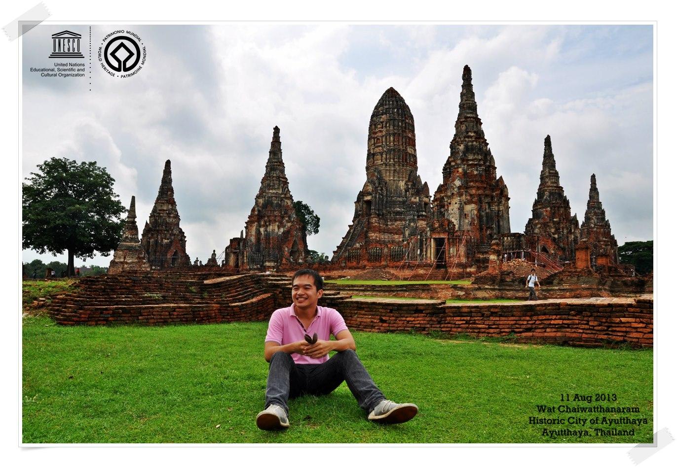 Wat Chaiwatthanaram Temple  GoUNESCO  Go UNESCO