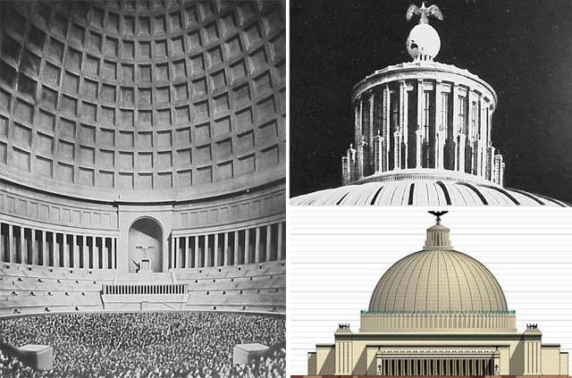 Dystopian germania the nazi world capital seen through for Architektur 3 reich