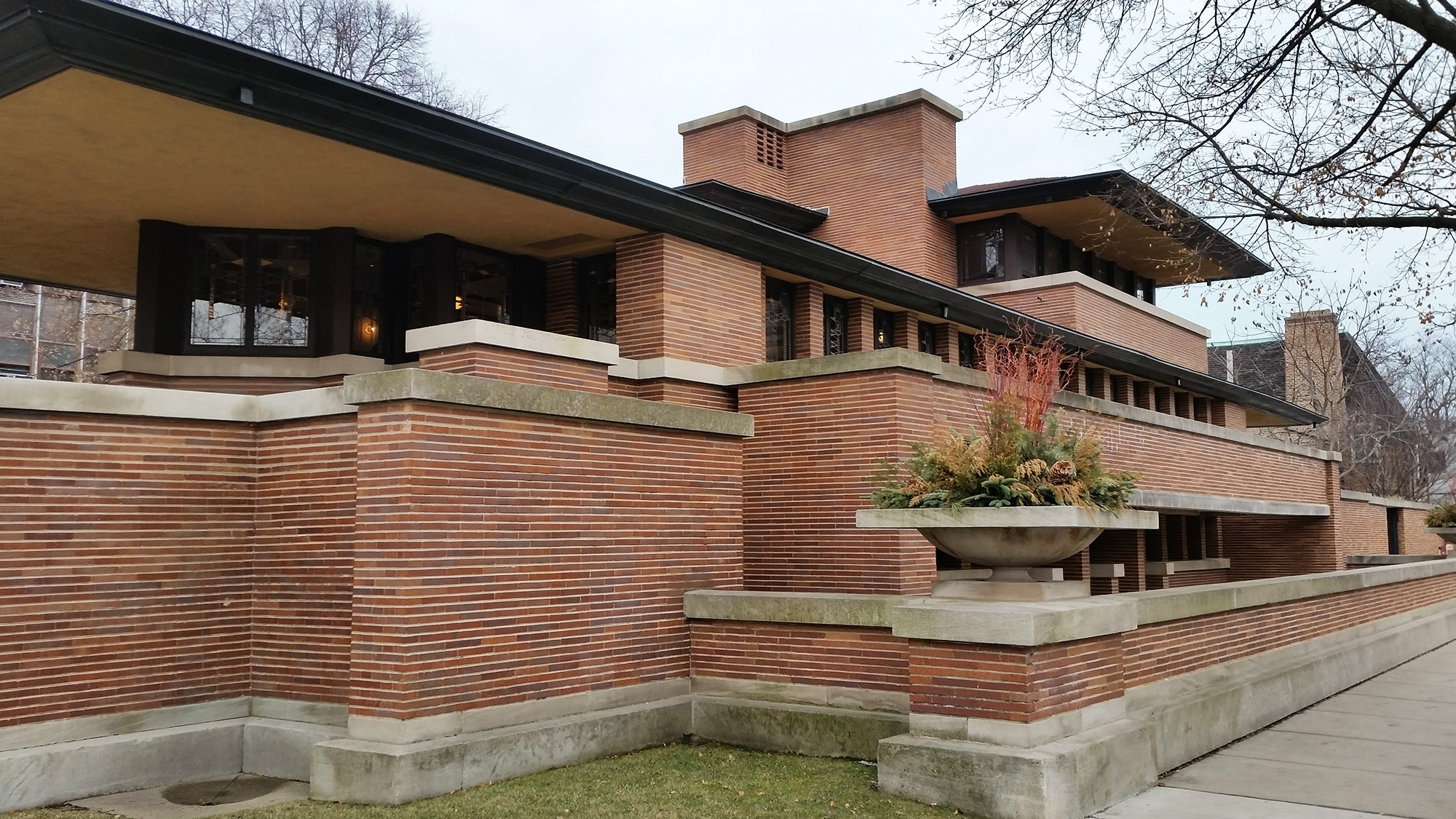 Robie House - Exterior Source: openhousechicago.org