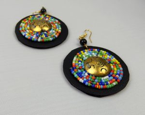 Visit the spectacular beaded earrings exhibition in Nairobi