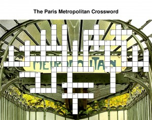 The Paris Metropolitan Crossword