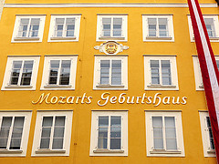 Mozart's Birthplace Historic Centre of the City of Salzburg - Austria Trailblazer