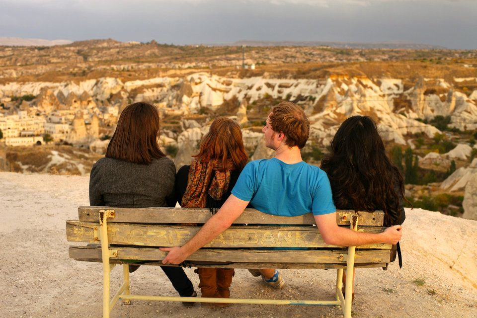 Watching the Sunset on Cappadocia Göreme National Park and the Rock Sites of Cappadocia - Turkey Chelsea Solan
