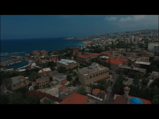 Old Historical City - Aerial view of Byblos