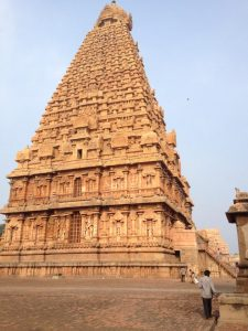 A reflection of pride of Chola Dynesty-Brihadisvara Temple at Thanjavur