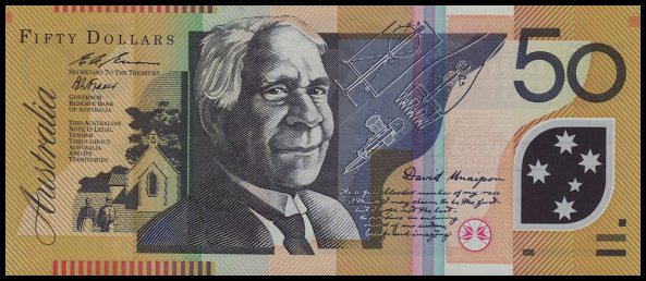 Fifty Dollar note