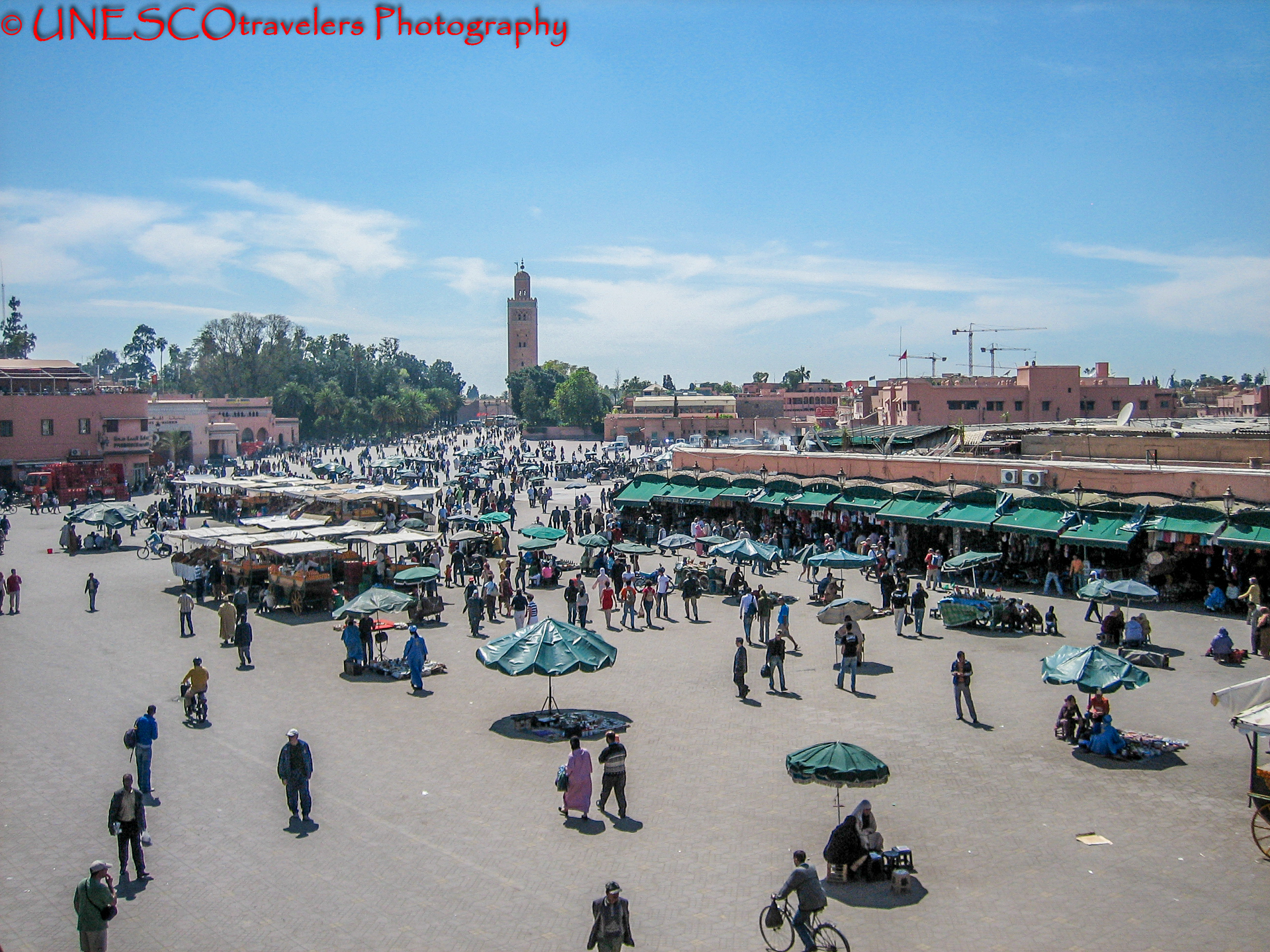 The Great Square of Jemaa el-Fna Cultural space of Jemaa el-Fna Square - Morocco By UNESCOtravelers