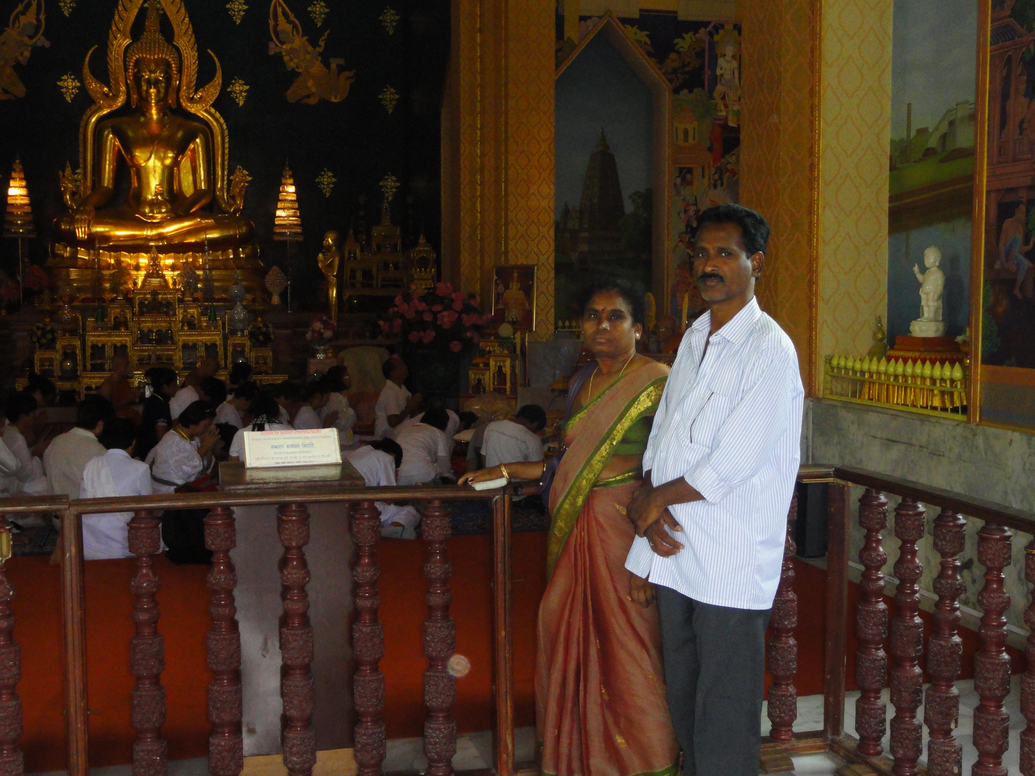 Bodh Gaya Mahabodhi Temple Complex at Bodh Gaya - India Venkataramana Pilla