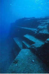 Yonaguni Island Submarine Landform of Southern Japan