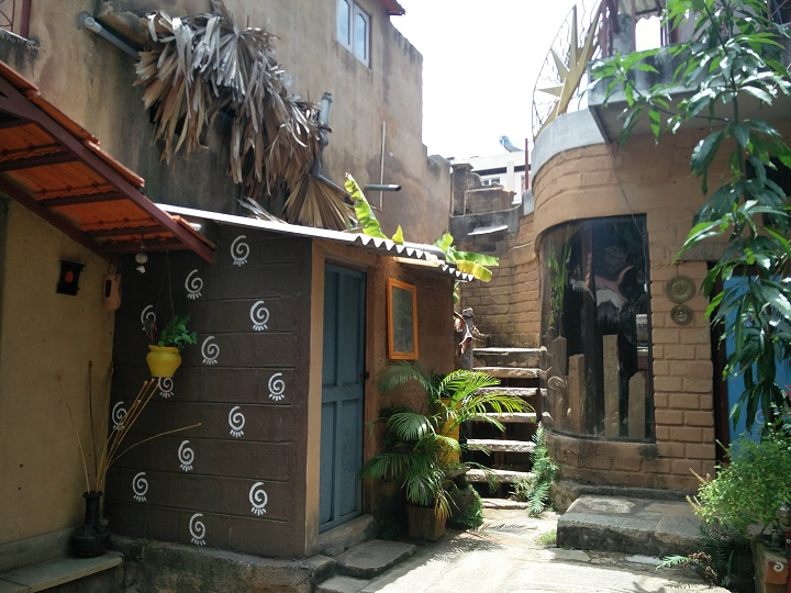 Part of the residence extended along the 100 year old building. Picture Courtesy: S. Urmila