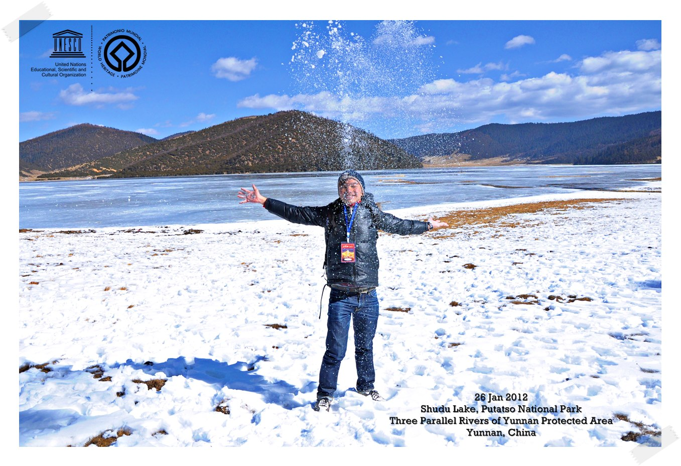Freezing Shudu Lake Three Parallel Rivers of Yunnan Protected Areas - China Thomas shaw
