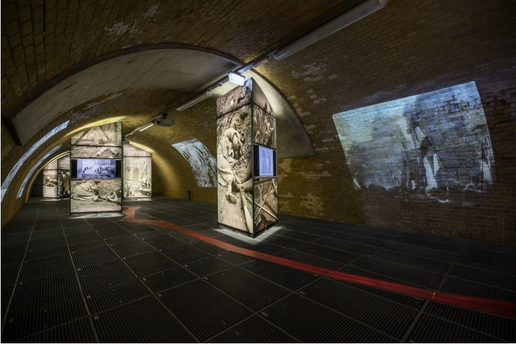 Interesting exhibition underground, as part of the Parliament Museum.