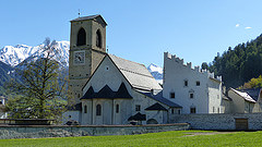 A Tranquil Convent Surrounded by Mountains Benedictine Convent of St John at Müstair - Switzerland Trailblazer