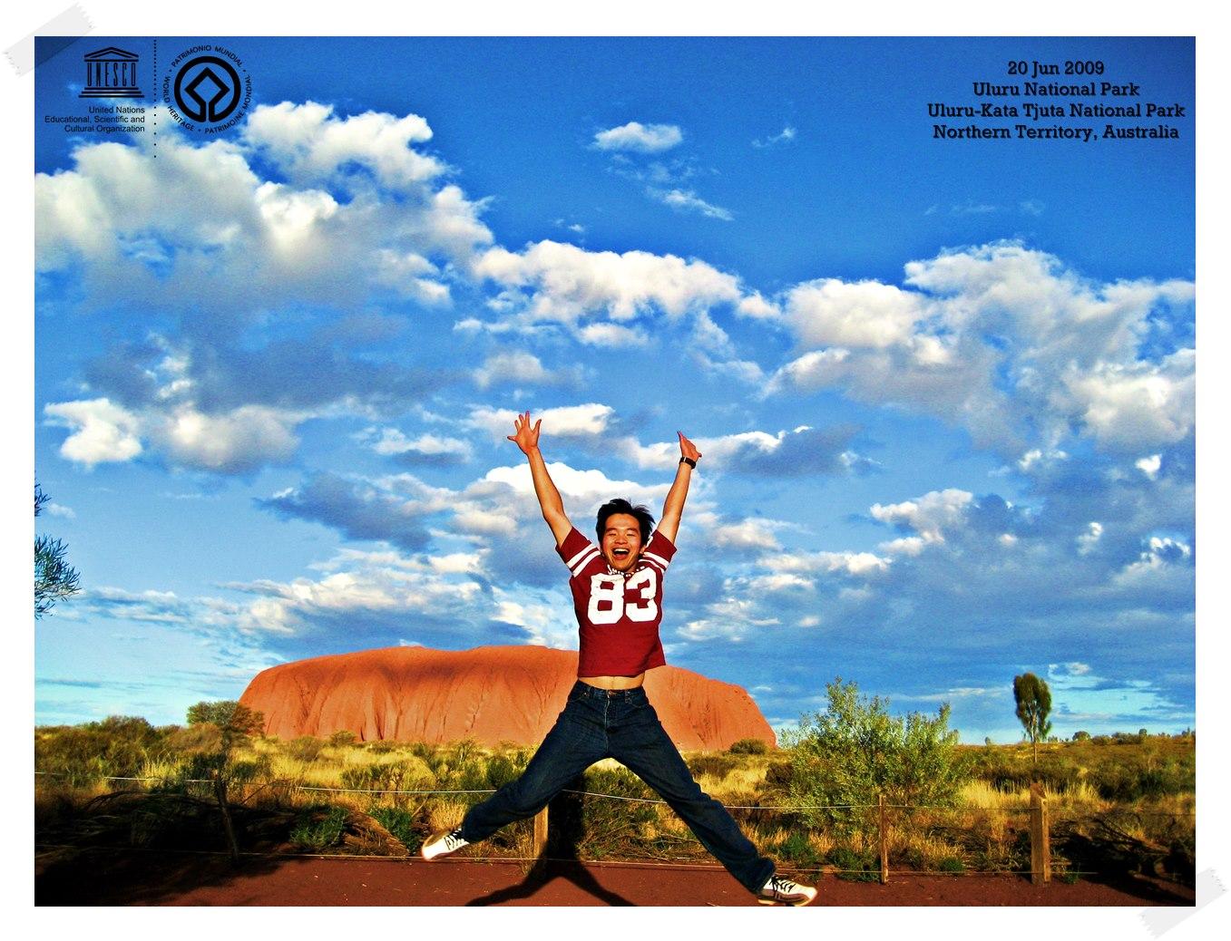 Uluru Giant Stones Uluru-Kata Tjuta National Park - Australia Thomas shaw