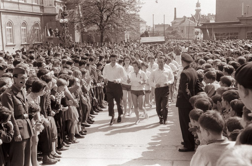 The Relay of Youth in Maribor 1961