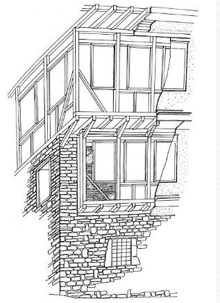 """1.traditional """"bondruk"""" construction- (Image Courtesy: build.mk)"""