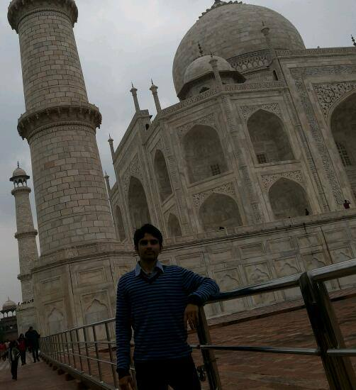 Venturing into the monument of love Taj Mahal - India Manish Kumar Tripathi