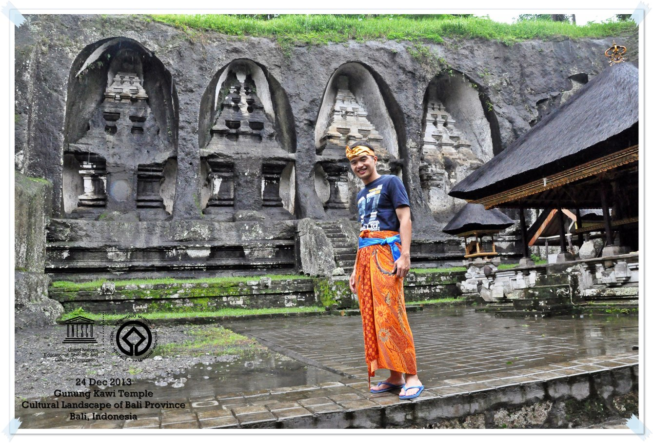 Gunung Kawi, Sacred Water Temple Cultural Landscape of Bali Province: the Subak System as a Manifestation of the Tri Hita Karana Philosophy - Indonesia Thomas shaw