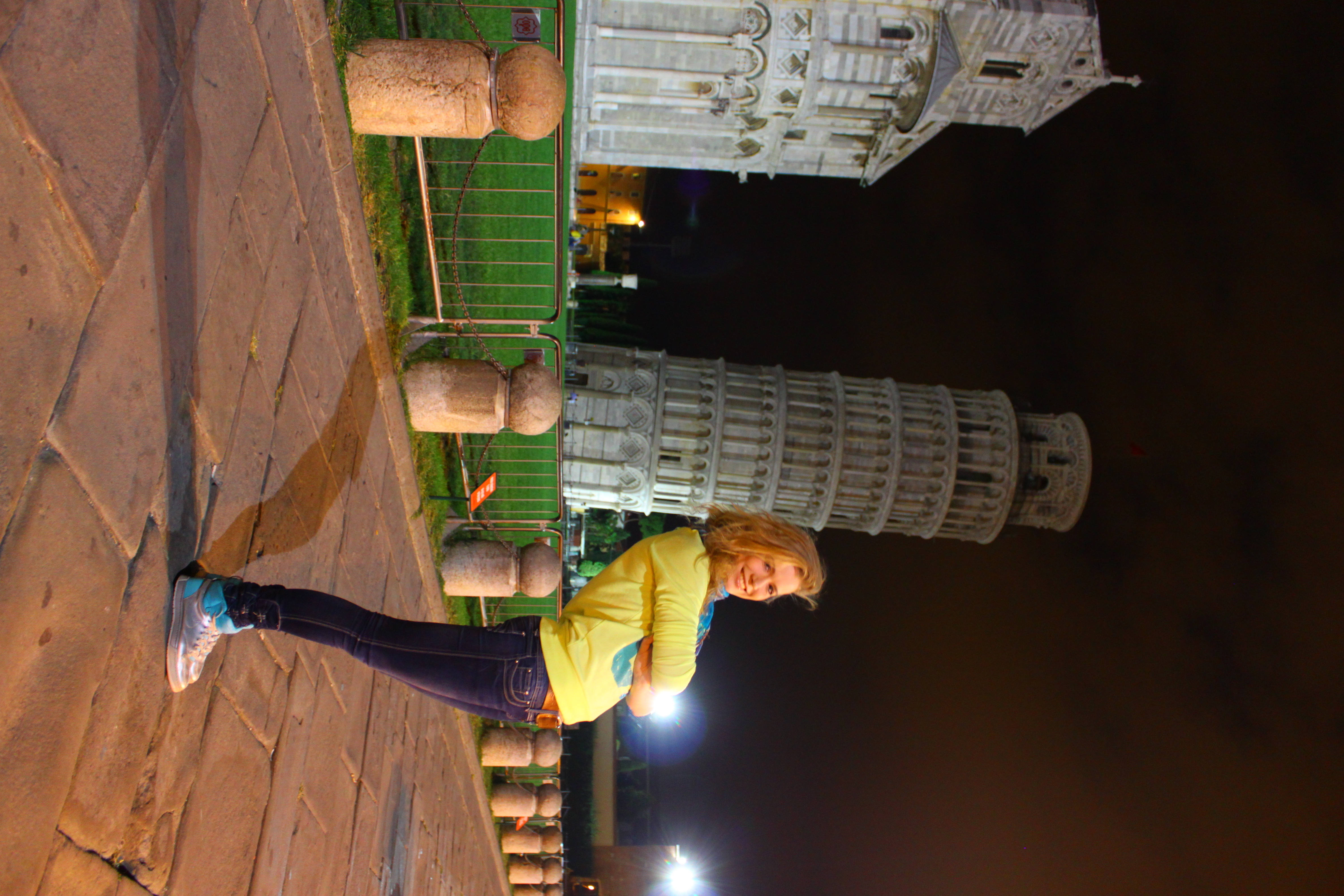 My contribution to Piza tower support Piazza del Duomo, Pisa - Italy Anna Urukova