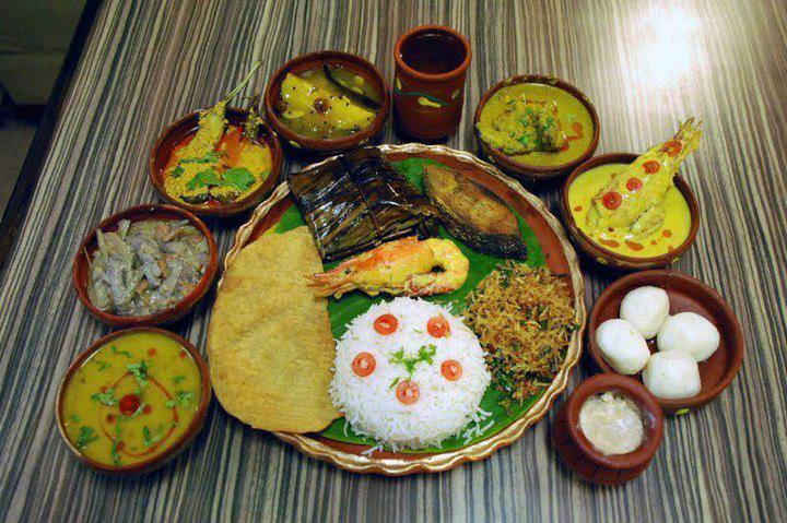 Bengali thaali