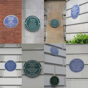 #Makeheritagefun: The blue plaques of London