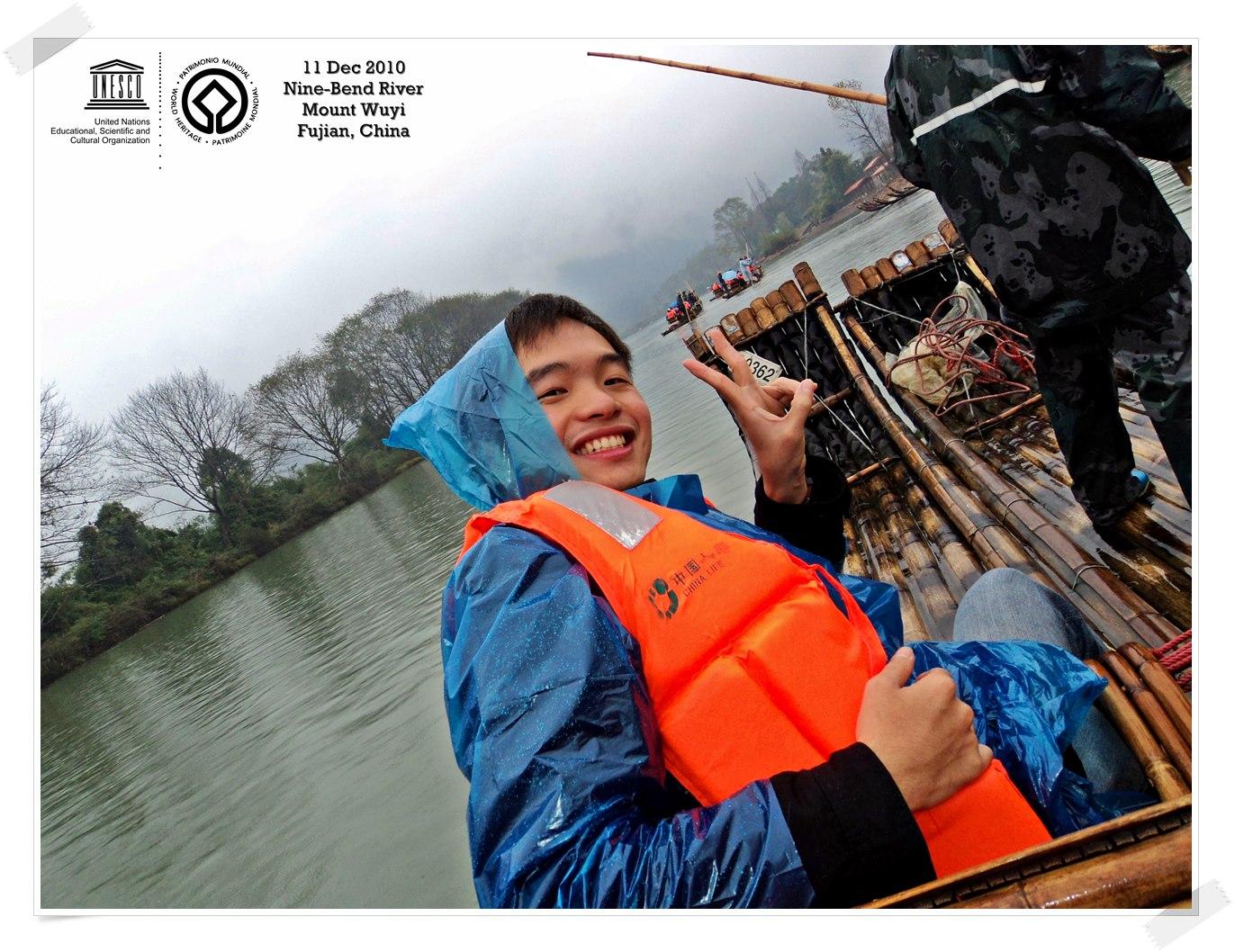 Bamboo Rafting at Nine Bend River Mount Wuyi - China Thomas shaw