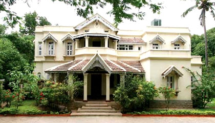 The Villa Pottipati restores into a heritage hotel-Neemaran.