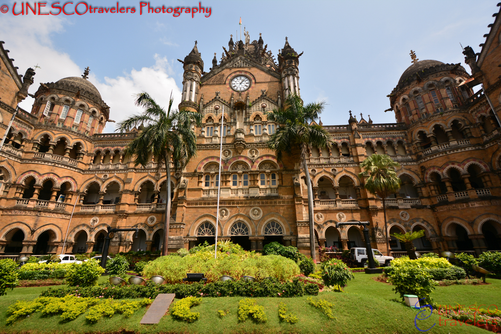 The Largest Rail Station in India Chhatrapati Shivaji Terminus (formerly Victoria Terminus) - India UNESCOtravelers
