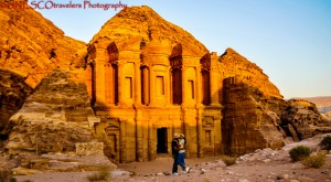 The Treasury and Monastery of Petra @ Jordan