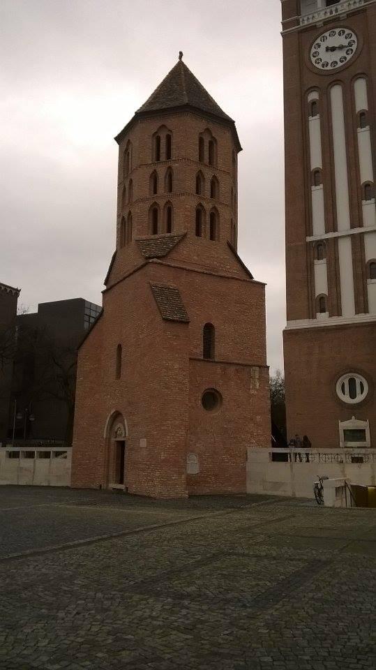 Dömötör Tower and the Votive Church
