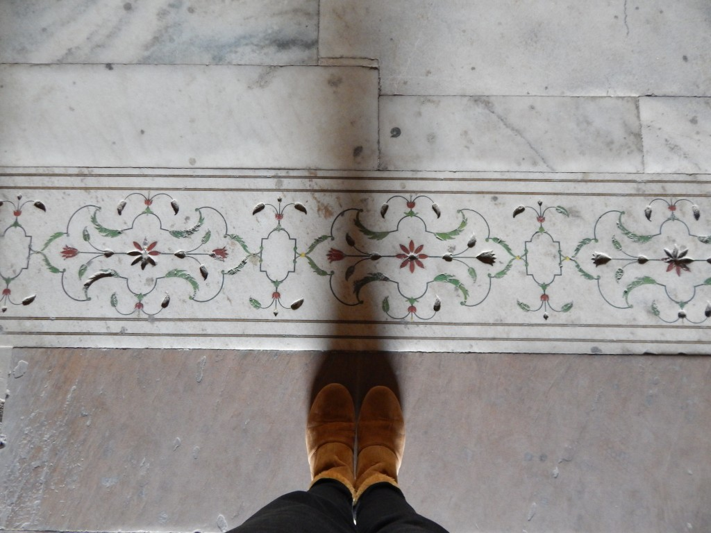 From where I stand-Marble detailing