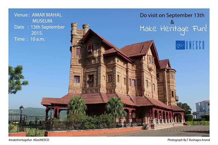 Make Heritage fun - 13th September