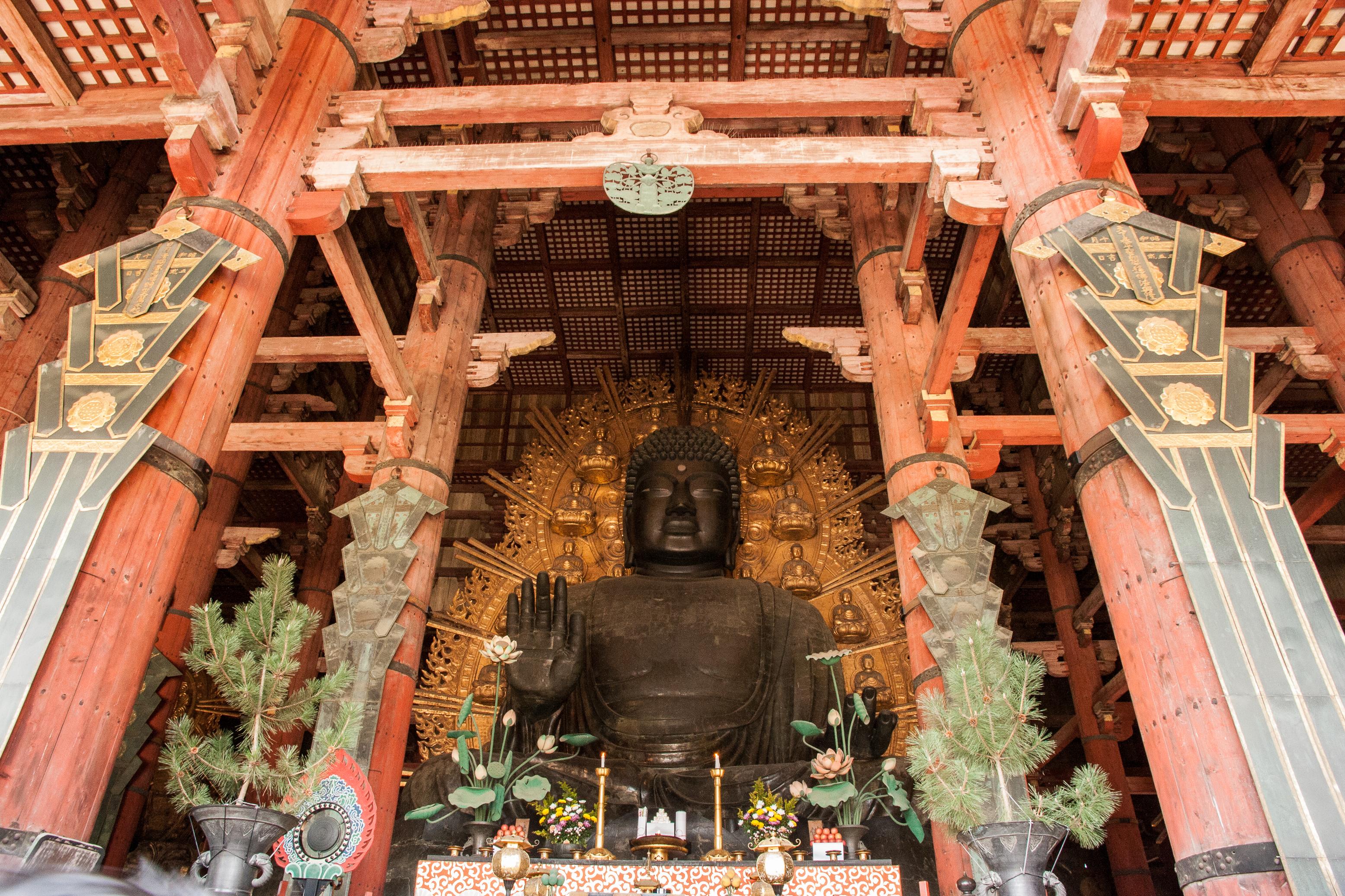 Budha at Todai-ji Nara