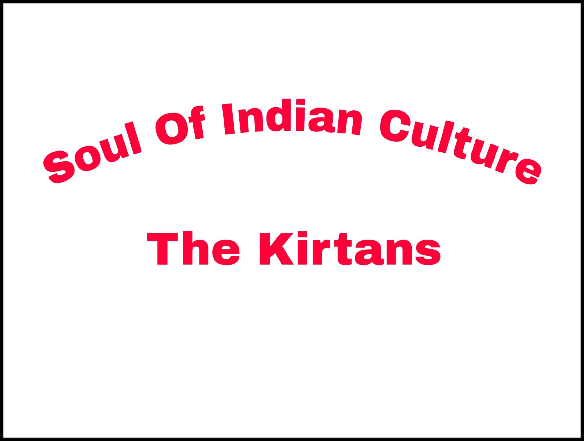 The Kirtans