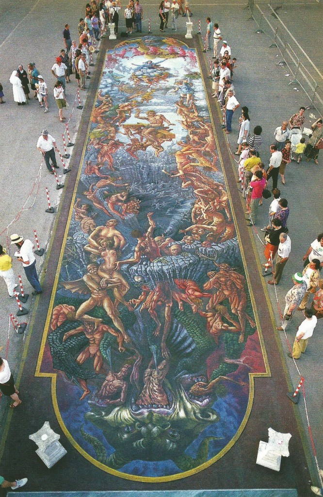 The Last Judgment, created for the visit of Pope Giovanni II