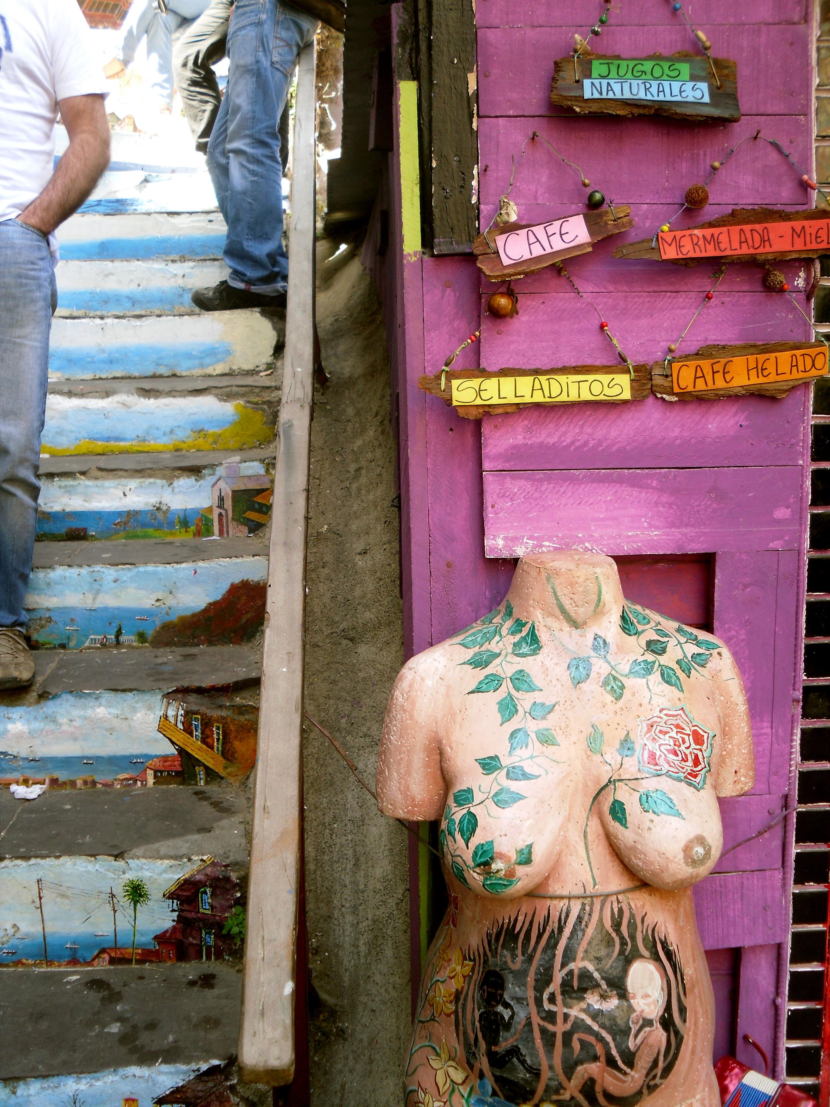 Valparaíso femme