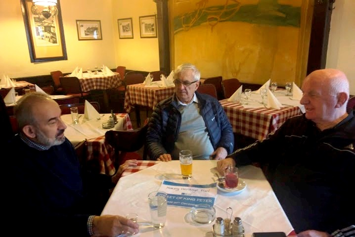 Frindly pensioners in the oldest bistro in Belgrade