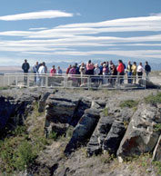 Head-Smashed-In Buffalo Jump Site (Source: http://history.alberta.ca/headsmashedin/)