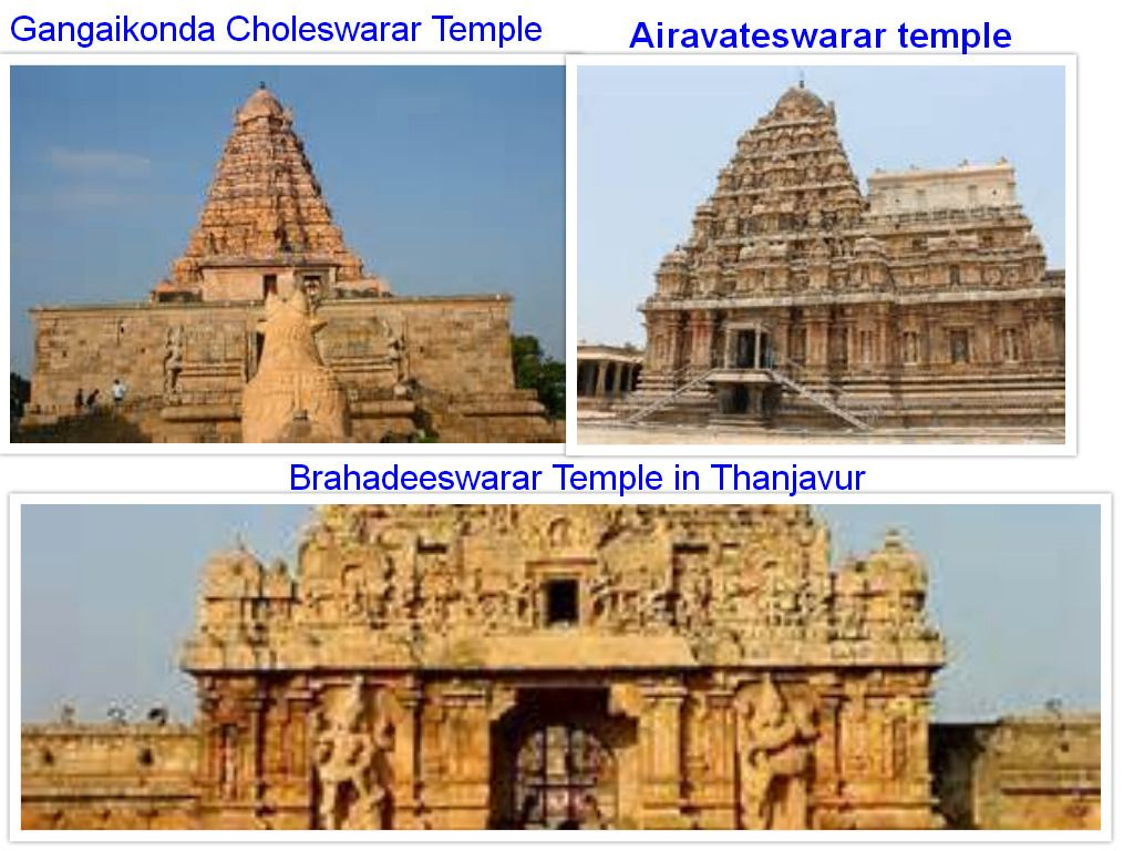 The Great Living Chola Temples collage