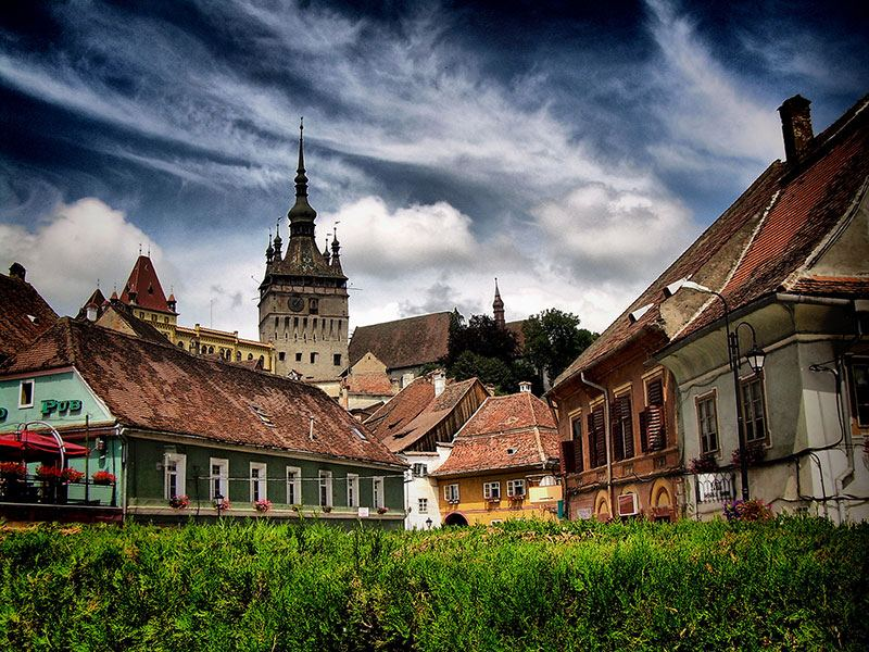 The Historic Center Of Sighisoara