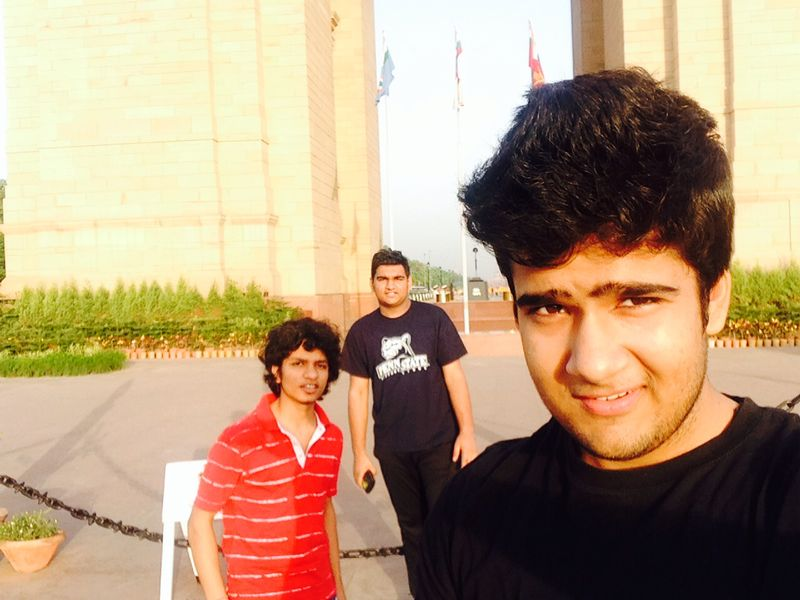 India gate visit - Pankit arora