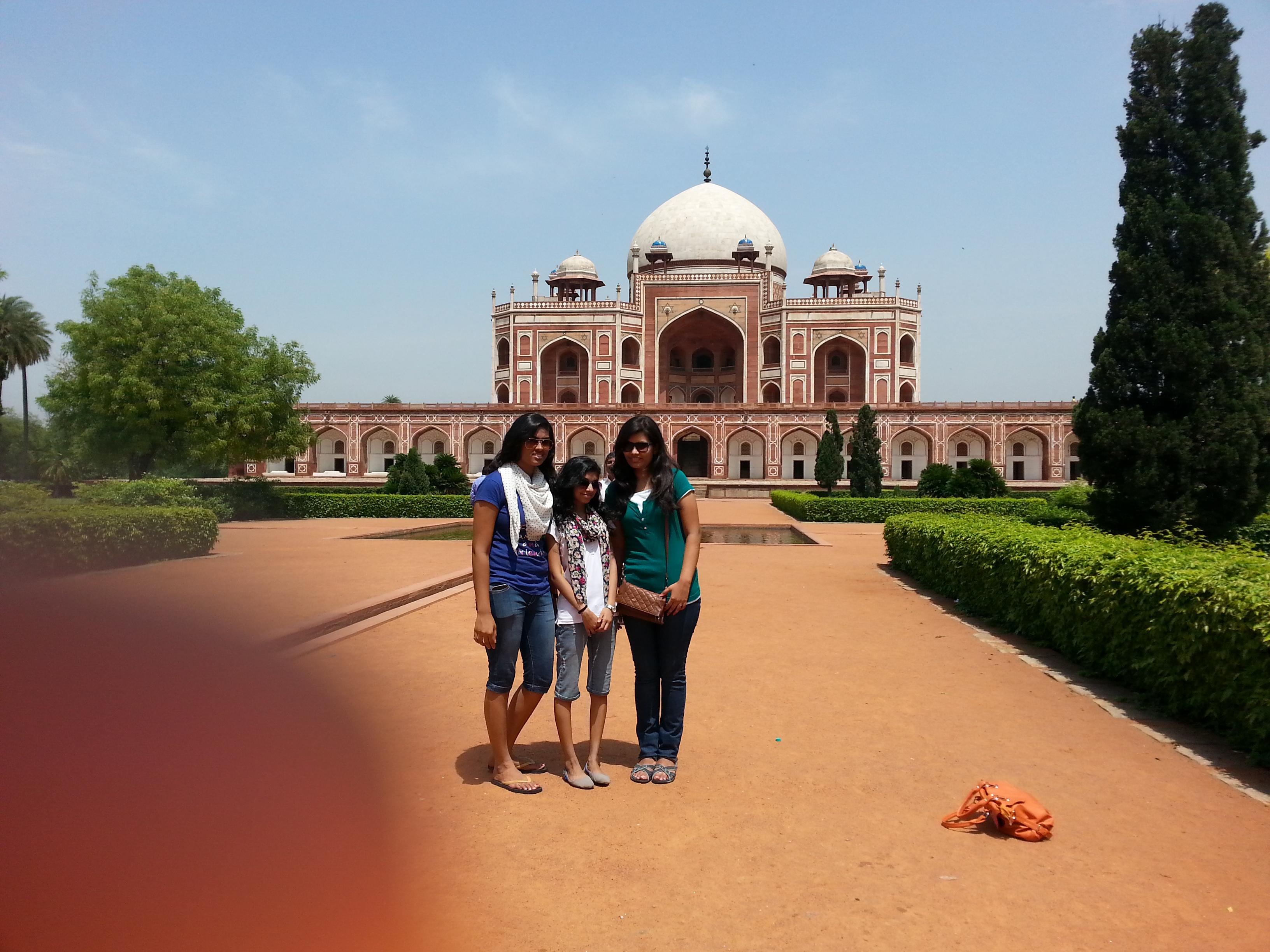 Humayuns tomb megha malpani