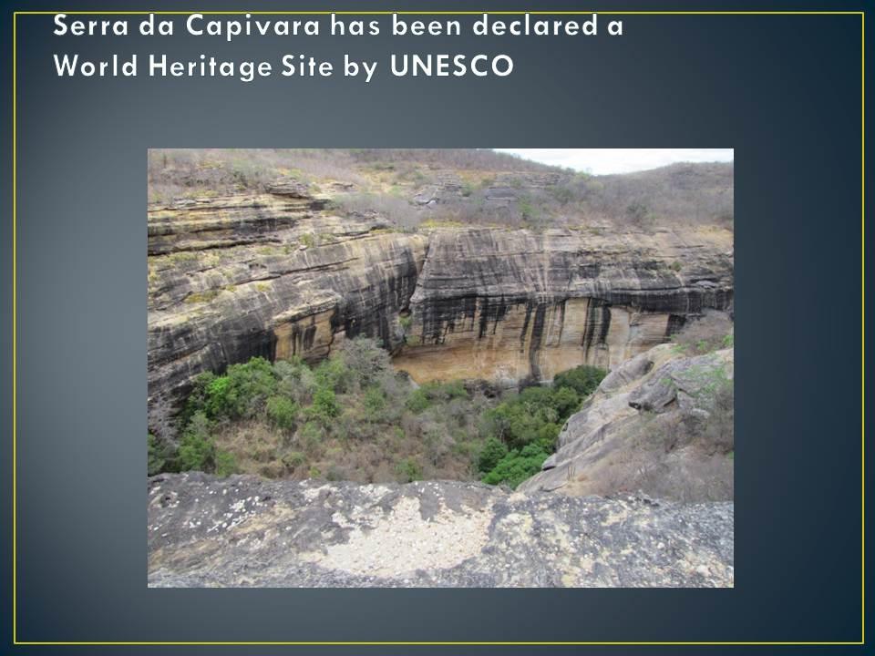 Serra da Capivara National Park Slide13