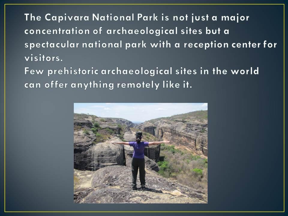 Serra da Capivara National Park Slide6