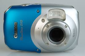 Canon Powershot D10 Camera