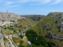 I visited this WHS in June 2014. I spent 2 days here and I got to visit both main Sassi areas (Sasso Caveoso has more to offer) as well as a number of Rupestrian Churches and cave homes. Thebest views of the Sassi and Matera in general are the Belvedere just opposite (some 6km away by car) and the view from the Convicinio di Sant'Antonio. The combined ticket that gives you access to all the Rupestrian Churches costs 7 euros and all are definitely worth a visit. However, my personal highlight was theSanta Lucia alle Malve with its beautiful frescoes and engravings. Flash photography is strictly not allowed and when there are several groups no photos are allowed to avoid waiting times. The caves opposite Matera (near the Belvedere) are worth a hike mostly for birdwatching (mostly swifts and lesser kestrels) and to enjoy the flora and different butterfly species. However, some of them are painted with frescoes and the best one is Madonna delle Tre Porte (marked 102 in the orange hiking trail). There are a couple of cave homes that you can visit to try to imagine what it must have been like to live in such conditions.