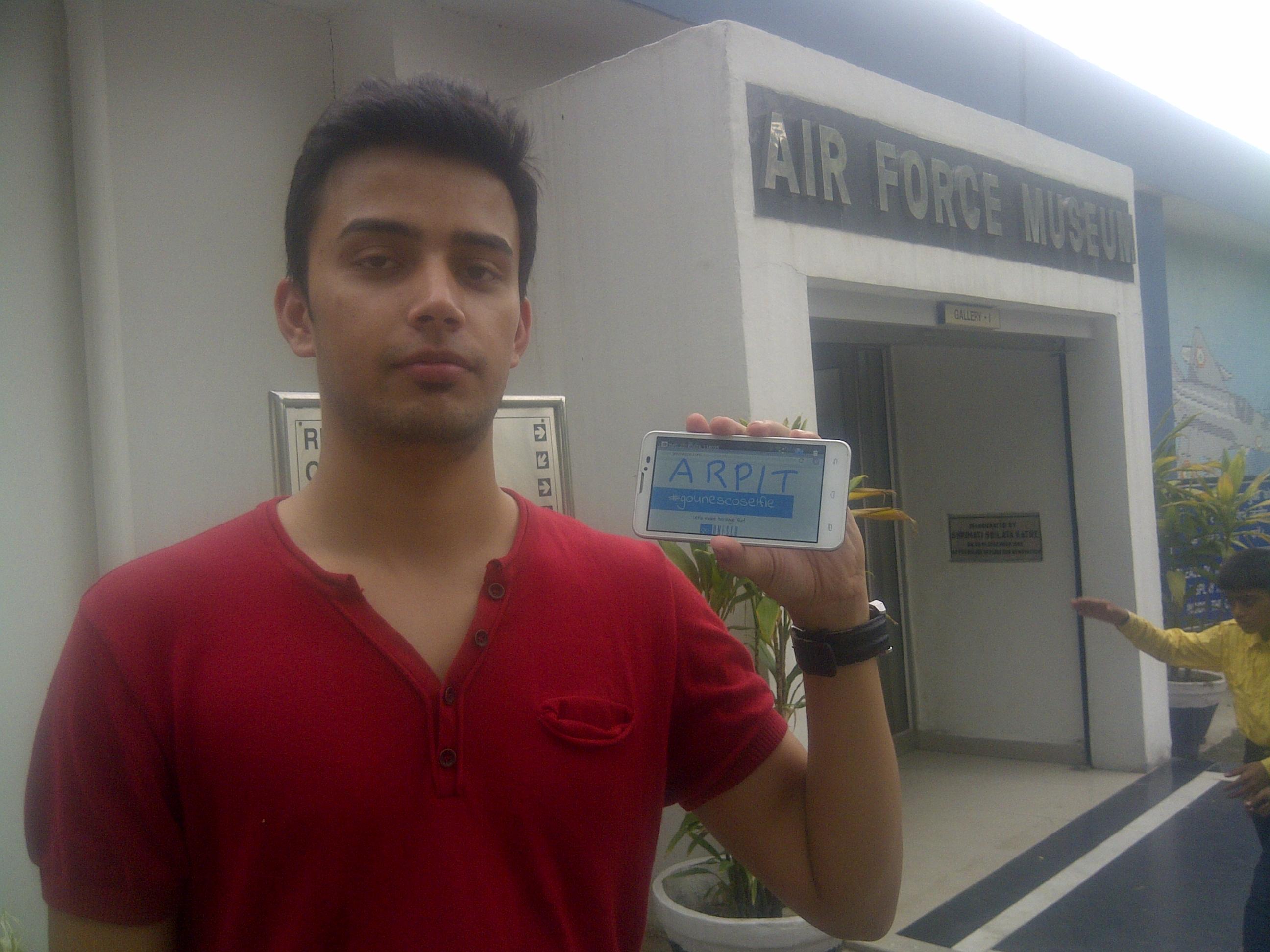 The Indian Air Force Museum, Palam Arpit Singh